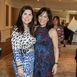 Lesha Elsenbrook, left, and Ilene Allen at the MS Society luncheon March 2015