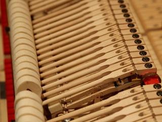 7 Kirill Gerstein prepares piano for Houston Symphony performance September 2013