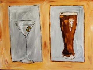 Geeberry Art cocktail