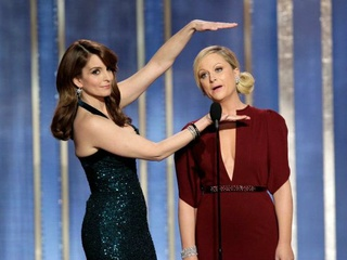 Tina Fey, Amy Poehler, 70th Golden Globes