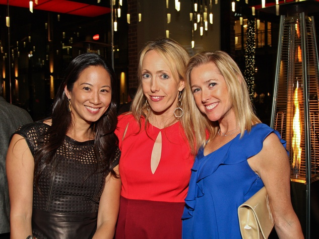 8, Del Frisco's Grille VIP party, March 2013, Dr. Melicia Tjoa, Rachel Rosson, Nancy Mathe