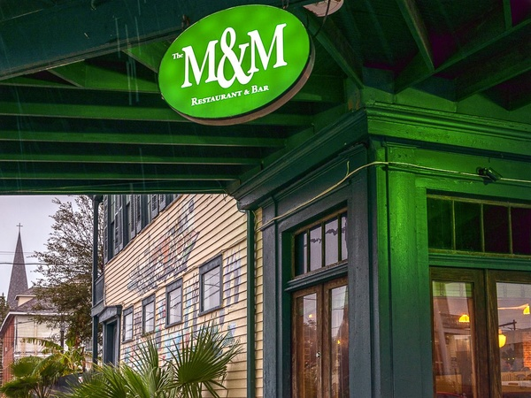 Galveston Restaurant Week, The M&M Restaurant &Bar, January 2013