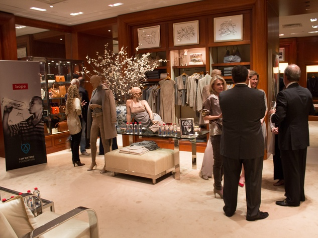 I Am Waters at Ralph Lauren Houston October 2013 scene with people