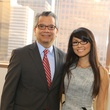 5406 David Ruiz and Van Ngo at the Alley Opening Night dinner May 2014