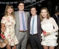 Houston, Rienzi Spring Party, April 2017, Maddie Britt, Mark McConn, Scotty Finnegan, Kelli Bunch