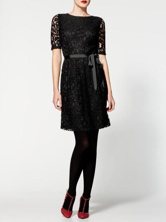 piperlime pim + larkin boatneck lace dress