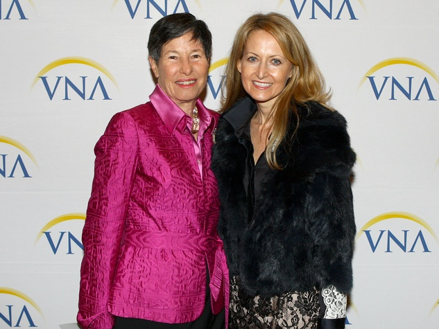 Lyda Hill and Lynn McBee, VNA Legends and leaders