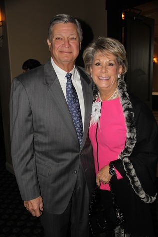 16 Butch and Paula Robinson at the Rodeo Trailblazer Awards Luncheon February 2015