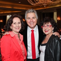 MS On the Move luncheon, February 2013, Franelle Rogers, Steve Tyrell, Roz Pactor