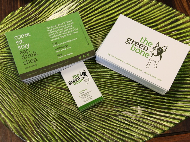 Green Bone, barkery, bakery, March 2013, Promo Cards
