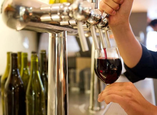 Whole Foods wine on tap