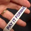 Pay it forward bracelet