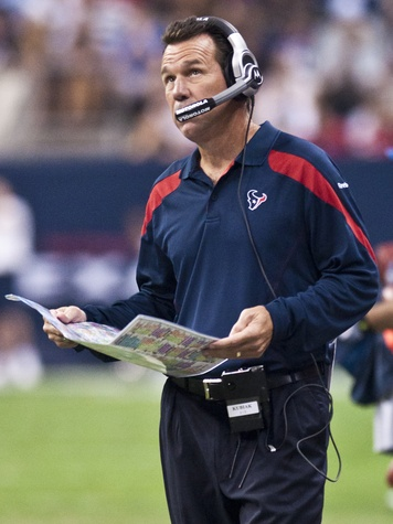 Gary Kubiak upset