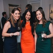0046 10 Ashley Salazar, from left, Laura Neiman and Jessica Johnston at the Houston Symphony's Young Associates Council season kick-off August 2014