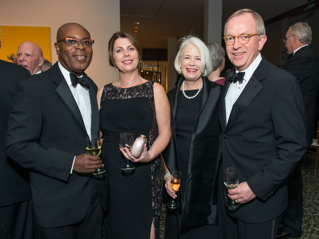36 Eric and Clair Anyah, from left, and Betsy and Rick Weber at the MFAH Grand Gala October 2014