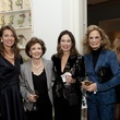 Lisa Eads, from left, Cyvia Wolff, Eleni Fuller and Cindy Thorp at the Rienzi Society dinner January 2014