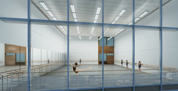 News_Houston Ballet_Center for Dance_Jan 2010