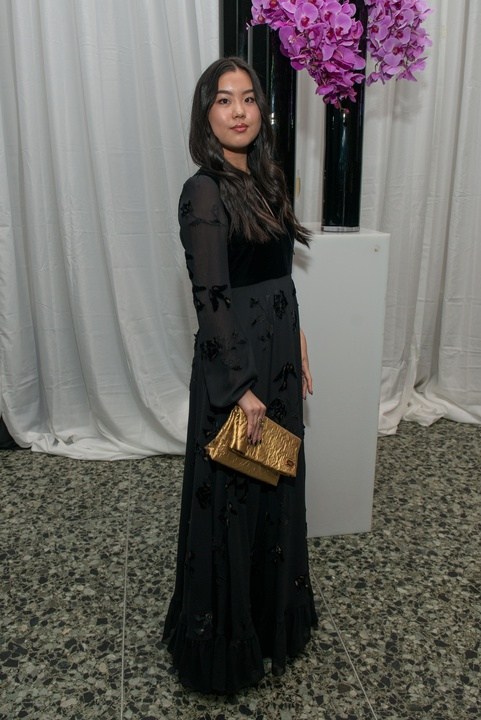 Grace Irie at MFAH Grand Gala Ball 2017