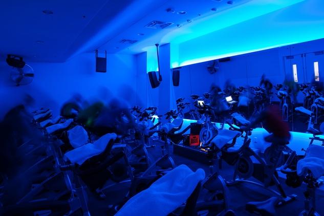 RIDE Indoor Cycling Studio Class