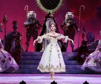 Melody Mennite as Clara in Houston Ballet The Nutcracker