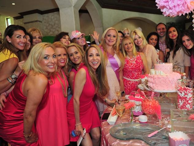 Erica Rose Baby Shower, June 2016, Erica Rose, and girlfriends