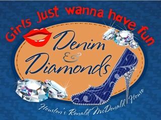 "Girls Just Wanna have Fun 2013: ""Diamonds & Denim"" benefiting Ronald McDonald House Houston"