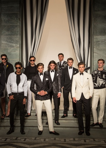 Ralph Lauren Purple Label presentation