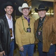 1 Jay Stewart, from left, Steve Estes and Mike Francisco at the Houston Rodeo barbecue cook-off February 2014