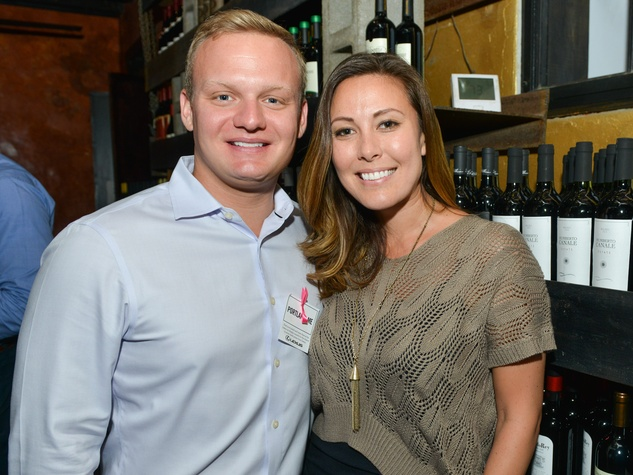 17 Ryan Elkins and Michelle Kaltenbach at the CultureMap Social at Boheme September 2014