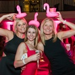 28 Johanna Smith, from left, Dr. Amanda Parker and Betty Smith at the Pink Party at Hotel ZaZa July 2014