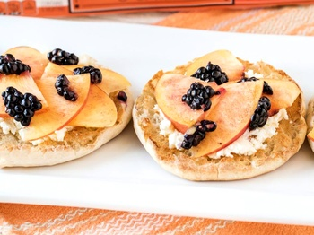 Ken Hoffman gets all toasty celebrating National English Muffin Day