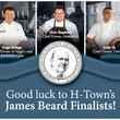 Houston James Beard Awards good luck flyer