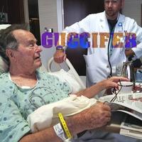 George H.W. Bush, hospital, email hacked, Guccifer, February 2013
