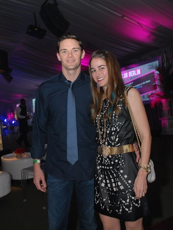 10 4092 Ryan and Emily Sweeney at Club Berlin Baker Institute party November 2013