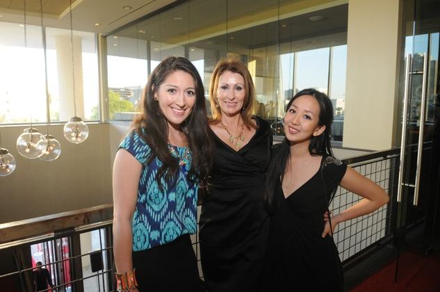 News, Table Restaurant opening, Natasha Helm, Denise Hammond, Vicki LeeMay 2014