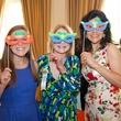 Julia Lovett, from left, Pam Lovett and Geraldina Wise at the DePelchin Children's Center luncheon April 2014