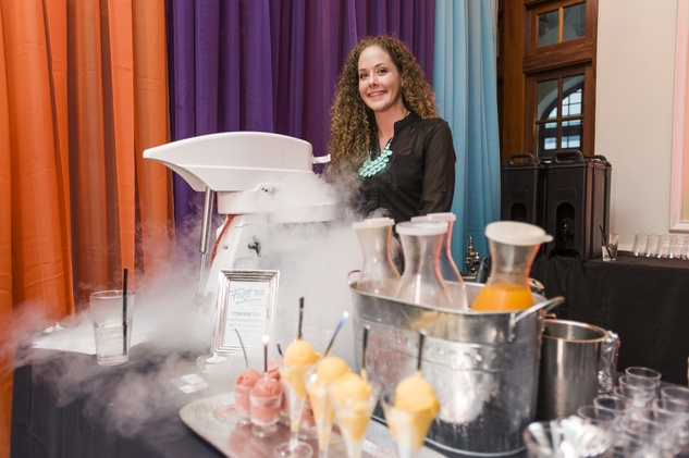 176 Frost 321 Frozen Bellini Bar at the HAA inaugural 40 under 40 party September 2014