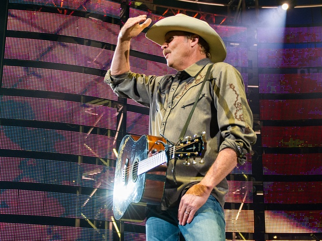Alan Jackson rodeo stage
