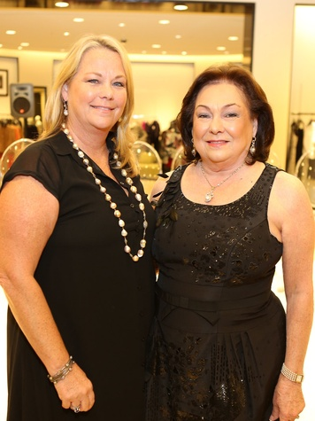 Kathy Cullen McCord, left, and Rose Cullen at the Winter Ball kick-off event