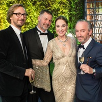 Van Cleef & Arpels party, April 2016, Nicolas Bos, Pierre de Saint-Albin, Becca Cason Thrash, Alexandre Bader