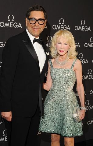Omega Celebrates the 45th Anniversary of Apollo 13 Mission, May 2015, Ceron and Diane Lokey Farb