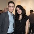 David Markus, Annabel Daou, Conduit Gallery party