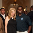Tanya Foster, LaDainian Tomlinson, After School All Stars event