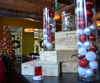 The Tasting Room CityCentre holiday decorations December 2014