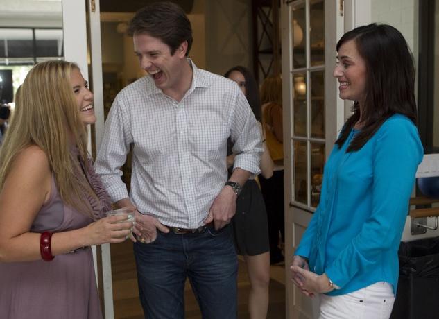 News_Define West U grand opening_May 2012_Katherine Schultz_Leslie Denby_ Britt Denby.jpg