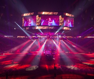 The Chainsmokers Houston Rodeo 2017 stage