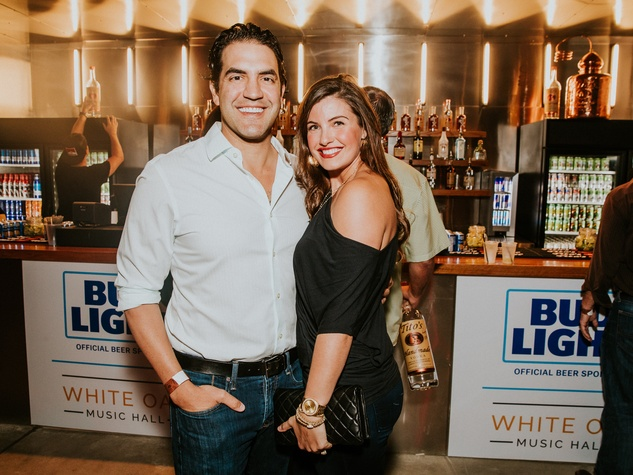White Oak Music Hall Opening, 8/16, James Gietz, Leslie Gietz