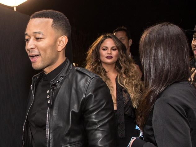 Houston, Bruno Mars Art After Dark Super Bowl Party, Jan 2017, John Legend, Chrissy Teigen