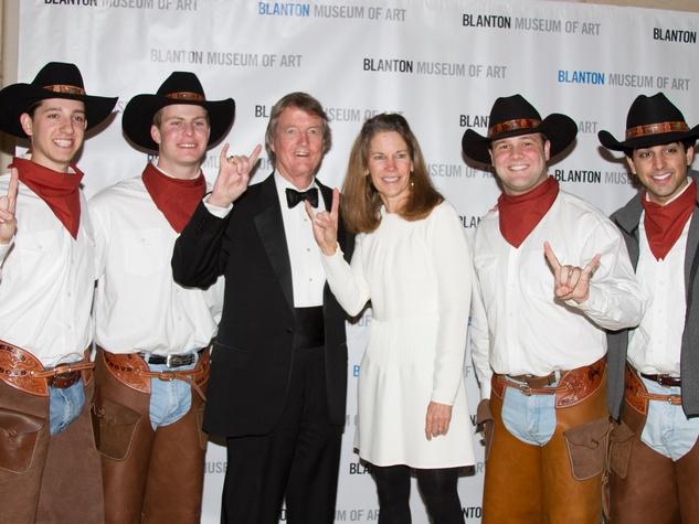 Blanton Art Museum Off The Wall Gala 2015 UT President Bill Powers Kim Heilbrun