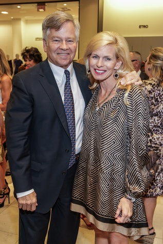 Mike and Terrie Turner at the Women of Distinction announcement party October 2014
